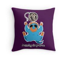 Montybrython Stream Gear! pt 2 Throw Pillow