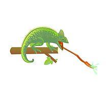 breakfast of chameleon by Desenatorul1976