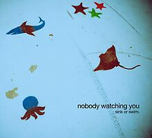 nobody watching by stolen lyric