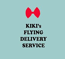 Kiki's Flying Delivery Service inspired poster by Elora0321