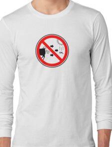 Methane Gas is Bad... Long Sleeve T-Shirt