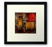 A Rift with the Natural World Framed Print