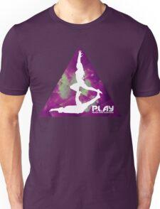 PLAY - Purple Trigon Unisex T-Shirt