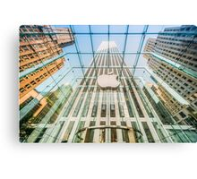 Big Apple in the Big Apple Canvas Print