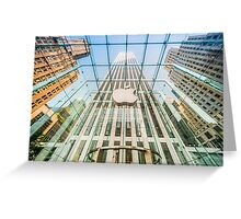 Big Apple in the Big Apple Greeting Card