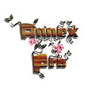 """""""Grow with Annex Pro"""" Logo (no background/border) by James Zickmantel"""