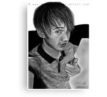 Darren. Canvas Print