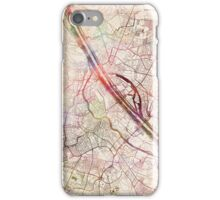 Vienna map iPhone Case/Skin