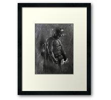 Batman Ben Affleck Design (3.0) Framed Print
