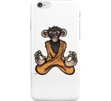 Zen Monkey iPhone Case/Skin