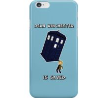 Dean Winchester is Saved iPhone Case/Skin