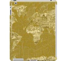 World Map landmarks 7 iPad Case/Skin