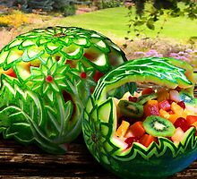 Exotic Melons by John Poon