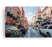 Little Italy, NYC Canvas Print