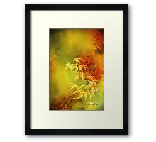 Shades of Autumn III Framed Print