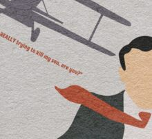 North by Northwest Sticker