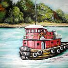 Tug Boat by Pamela Plante