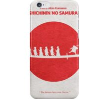 Seven Samurai iPhone Case/Skin