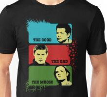 The Good The Bad The MOOSE Unisex T-Shirt