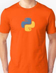Python Logo Tile Print T-Shirt