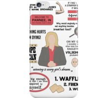 Knope Quotes iPhone Case/Skin
