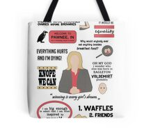 Knope Quotes Tote Bag