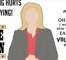 Knope Quotes Sticker