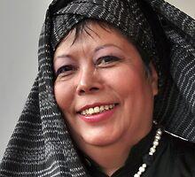 (593) Turban and shawl by Marjolein Katsma