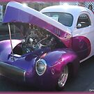 Willys 40s 3 Window Coupe by Debbie Robbins