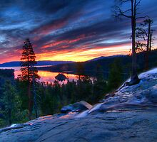 5 am at Emerald Bay by Justin Baer