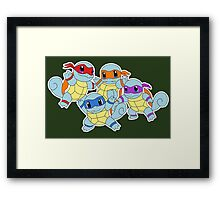 Ninjaquirtles Framed Print