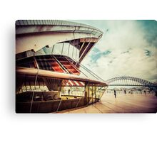 Sydney Opera House and Bridge Canvas Print