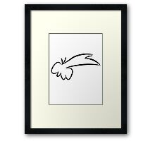 Fred Flintstone Framed Print