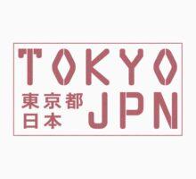 Tokyo Japan Kids Tee