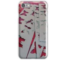 Cut Out Butterfly Crafting iPhone Case/Skin