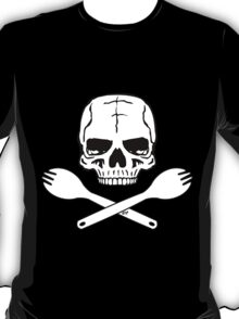 Skull and Crossed Sporks T-Shirt