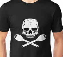 Skull and Crossed Sporks Unisex T-Shirt