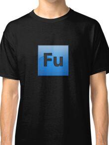 Fu Adobe button Classic T-Shirt