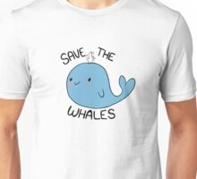Save the Whales Unisex T-Shirt