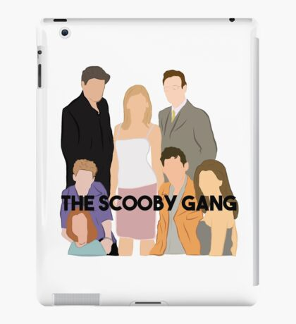 The Scooby Gang iPad Case/Skin