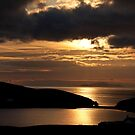 Golden rays to the Isle of Foula by Shaun Whiteman