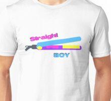 Straight BOY Hair Straighteners Tee Unisex T-Shirt