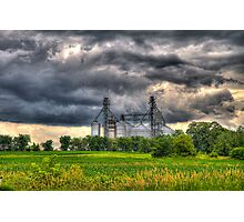 Storm Clouds Gathering Photographic Print