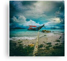 time to rest Canvas Print