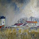 Hart Windmill, Hartlepool by Sue Nichol