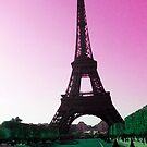 Eiffel Tower in Color by MaggieGrace
