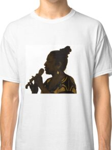 Silhouette in Sepia Classic T-Shirt