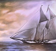 Schooner..... by andy551