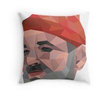 Steve Zissou - Bill Murray - Wes Anderson Throw Pillow