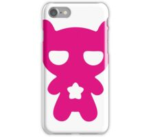 Lazy Bear Pink iPhone Case/Skin